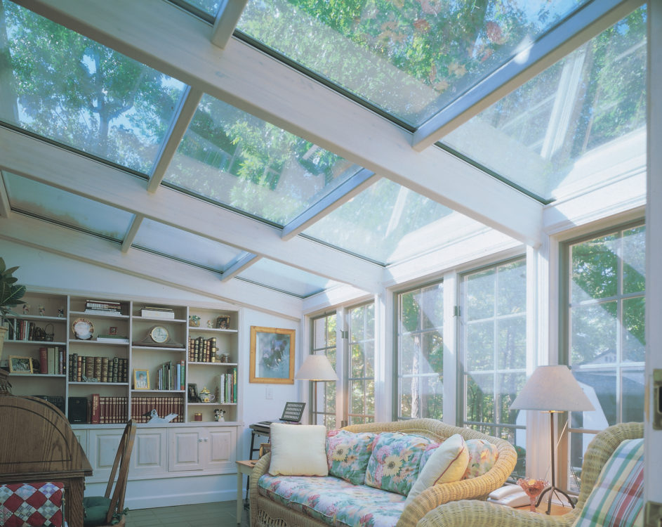 Glass Roof Sunrooms Curved Eave Straight Roof Studio