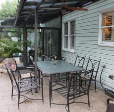 outdoor patio cover installation