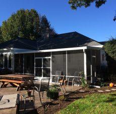 patio screen enclosure installation