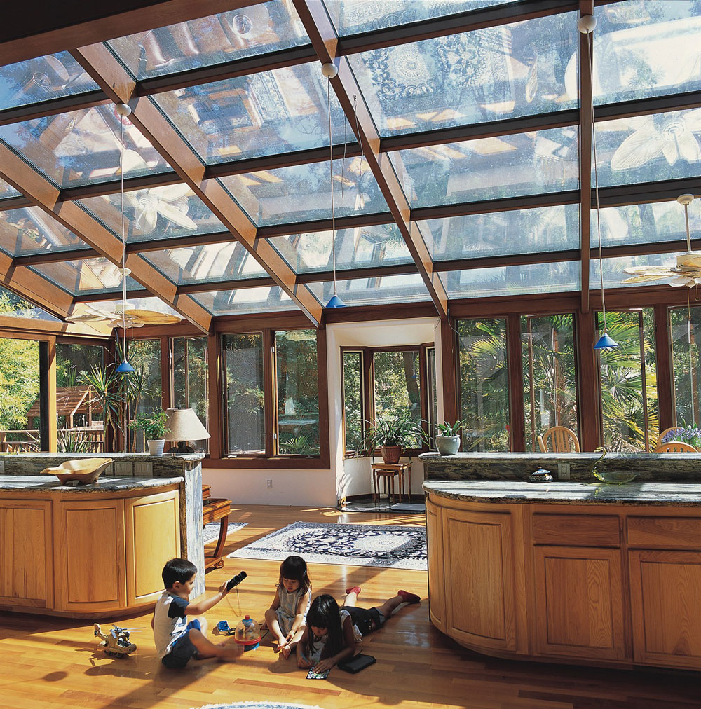 Glass Roof Sunrooms
