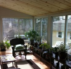letting in natural sunlight through windows